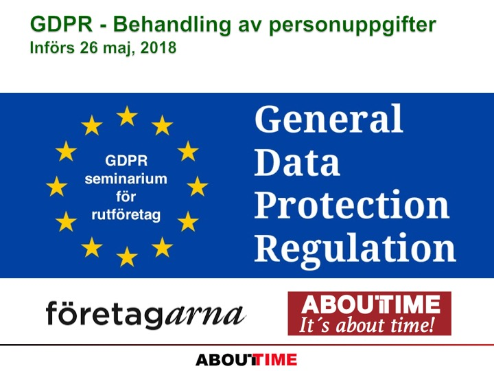 01_GDPR_Behandling av personupppgifter_About Time och Foretagarna