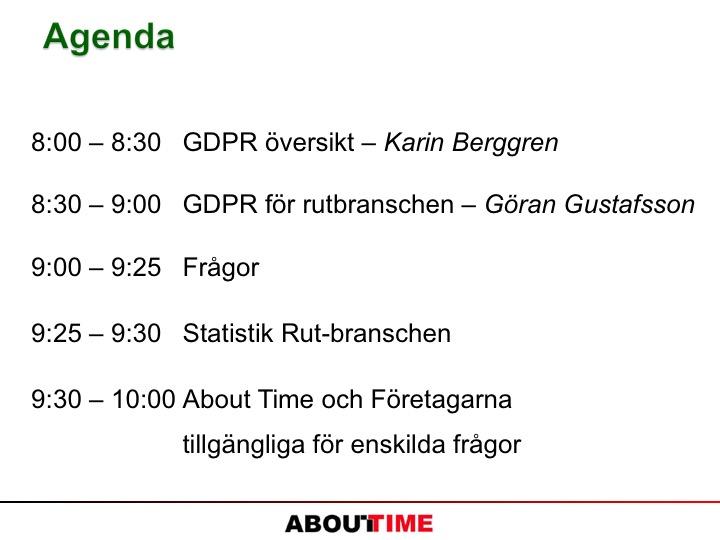02_Agenda GDPR